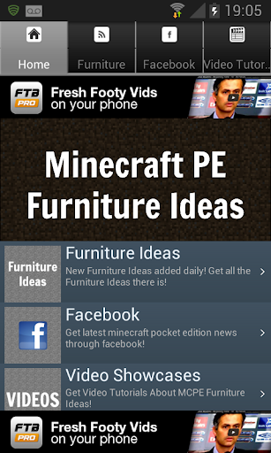 Furniture Designs Minecraft PE