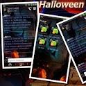 Halloween GO SMS Theme logo