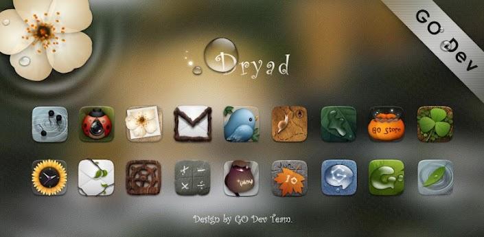Dryad GO Launcher EX Theme apk