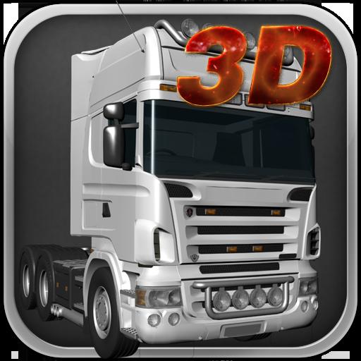 卡車停車3D LOGO-APP點子