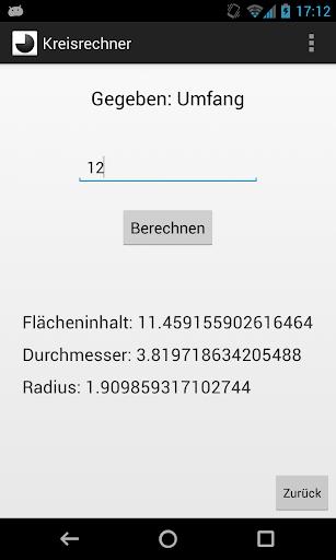 【免費生產應用App】Kreisrechner-APP點子