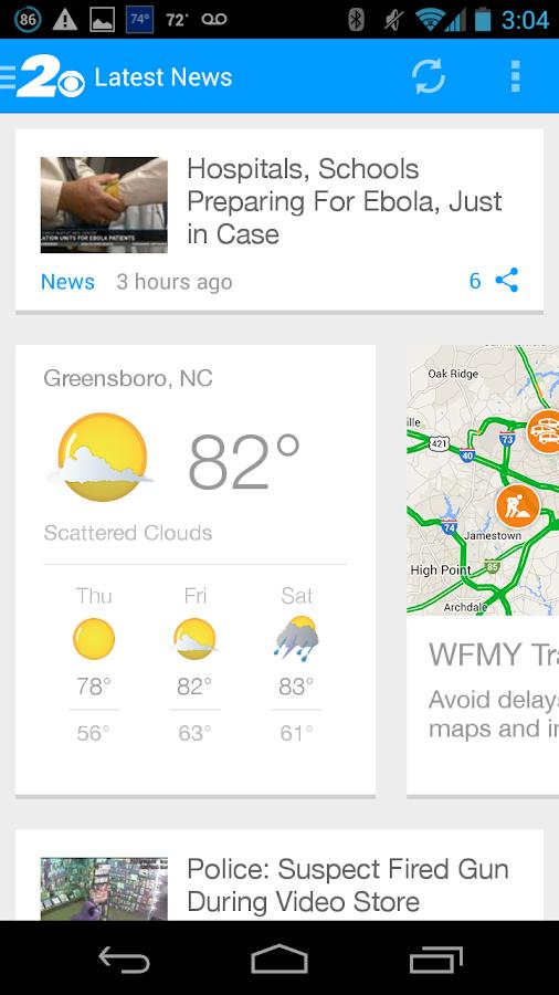 WFMY - screenshot