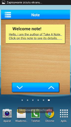 Notes Tasks