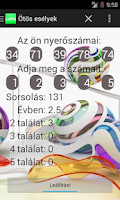 Screenshot of Lottery mania