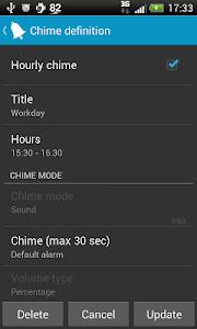 Hourly chime PRO v4.3