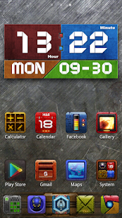 Graphics Clock Widget - screenshot thumbnail