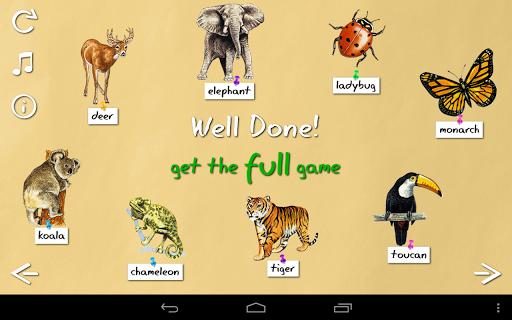【免費教育App】Animal Name Game Preview-APP點子