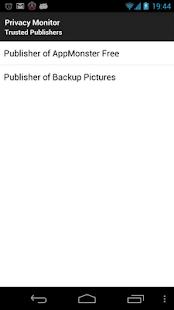 Privacy Monitor- screenshot thumbnail