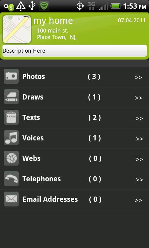 PlaceMemo Lite - screenshot