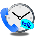 Notification of talk time logo