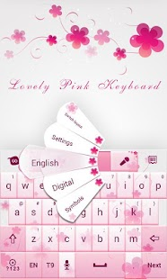 Love Light GO Keyboard Theme - screenshot thumbnail