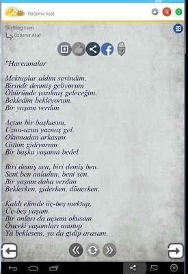 Özdemir Asaf Şiirleri - screenshot