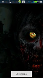 Zombie Eye Live Wallpaper - screenshot thumbnail