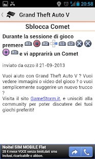 Trucchi Videogiochi - screenshot thumbnail