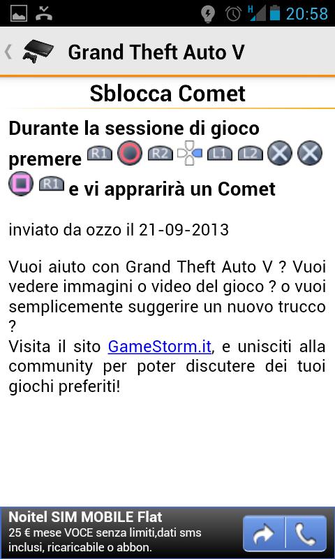 Trucchi Videogiochi - screenshot