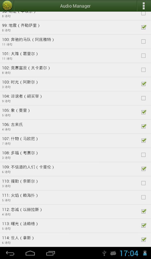 Quran Chinese (中文《古兰经》译释)- screenshot