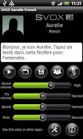 Screenshot of SVOX French Aurelie Voice