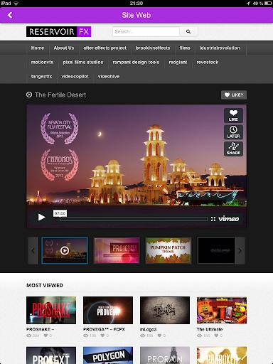 【免費媒體與影片App】Reservoir FX-APP點子