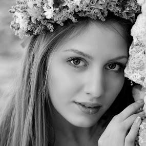 by Теди Димитрова - Black & White Portraits & People ( , best female portraiture )