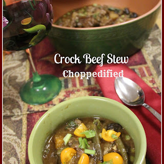 Crock Beef Stew Choppedified