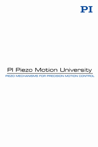 Piezo University- screenshot