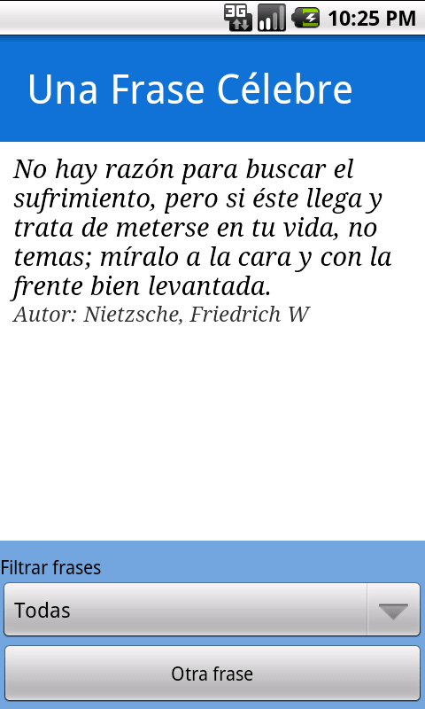 Frases Célebres - screenshot