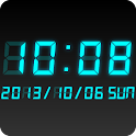 LED clock widget CT-Me Clock icon