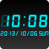 LED clock widget CT-Me Clock
