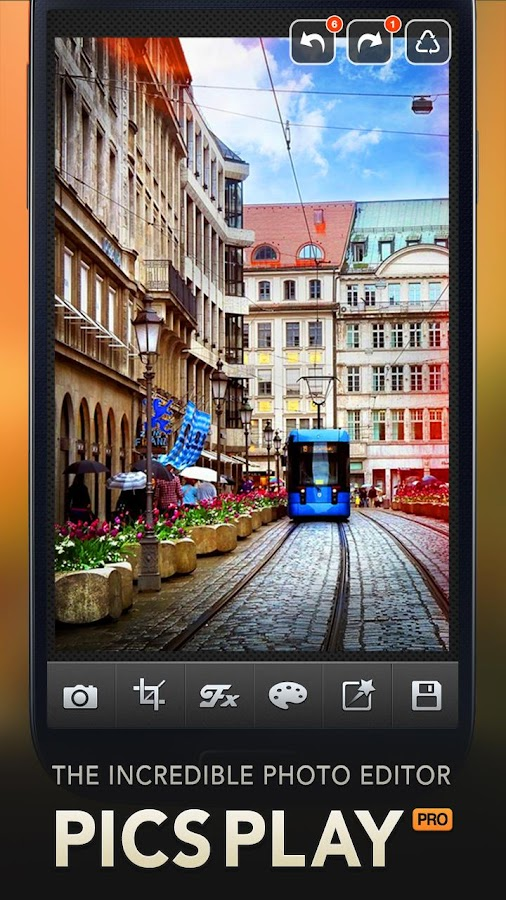 PicsPlay - Photo Editor - screenshot