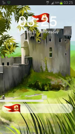 GO鎖屏主題城堡