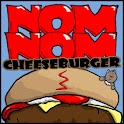 Nom Nom Cheeseburger BETA logo