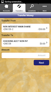 Hughes FCU Mobile Banking - screenshot thumbnail