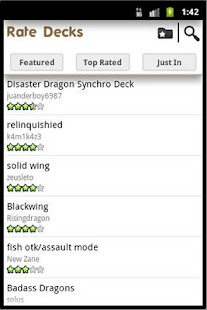 Yugioh Deck Builder - screenshot thumbnail