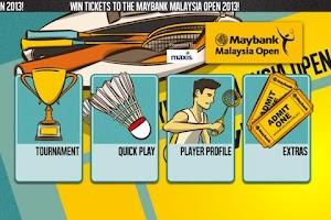 Screenshot of Maybank Malaysia Open 2013