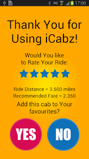 iCabz Passenger- screenshot thumbnail