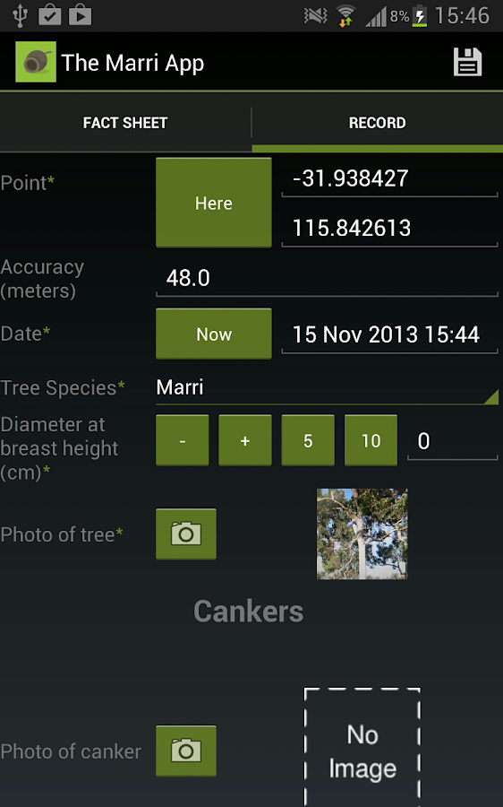 The Marri App - screenshot
