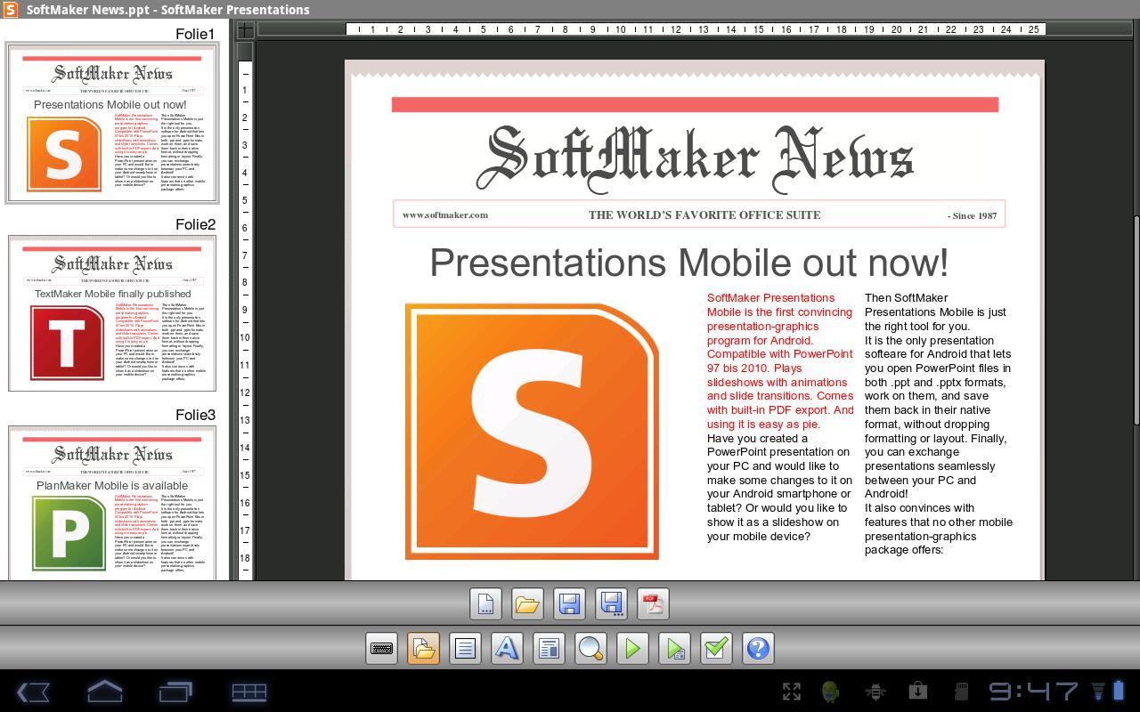 Office 2012: Presentations - screenshot