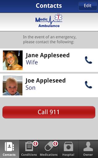 Medic Ambulance ICE App