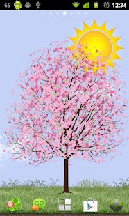 Lonely Cherry Blossom Tree LW- screenshot thumbnail