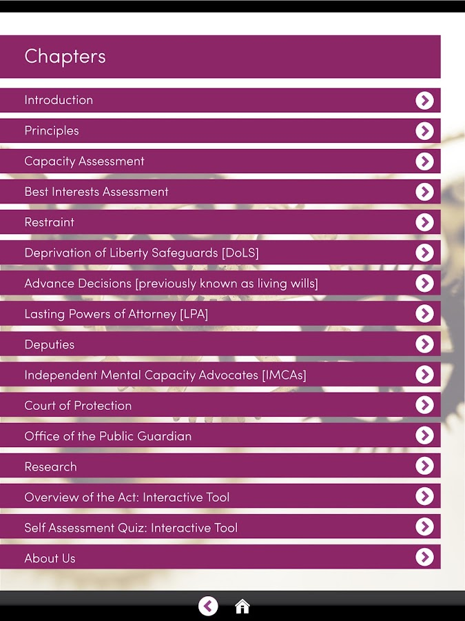 mental capacity act nvq 5 Mental health act courses mental health act courses - the best online guide to courses and training mental health act courses, whether distance, online or classroom-based mental health act .