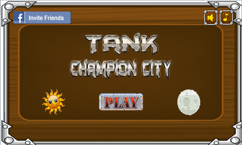 Tank Champion City- screenshot