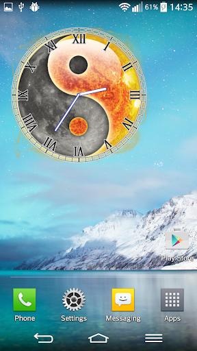玩個人化App|阴阳时钟小工具免費|APP試玩
