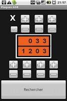 Screenshot of Plaques ADR