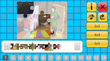 Screenshot of Сказка Каша из топора