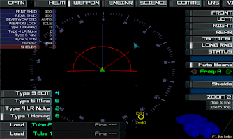 Screenshot of Artemis Spaceship Bridge Sim