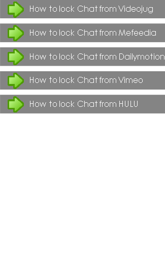 How to lock Chat