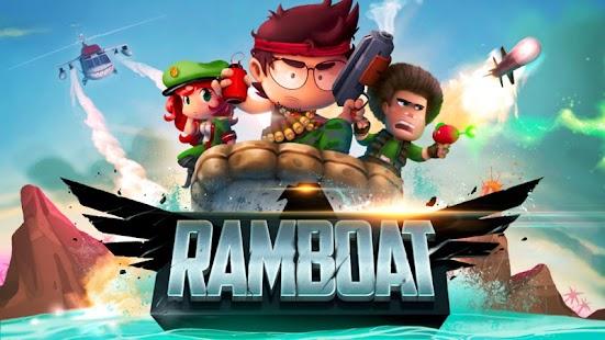 Ramboat: Shoot and Dash Imagen do Jogo