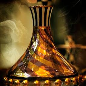 Macro Bottle by Merna Nobile - Artistic Objects Glass ( lens, shot )