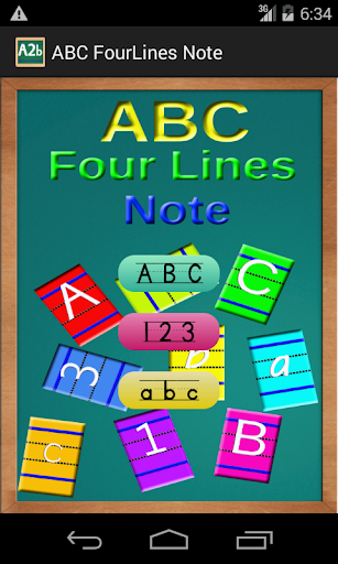 ABC FourLines Note