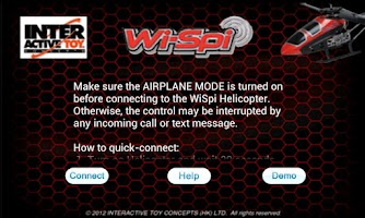 Screenshot of WiSpi Controller